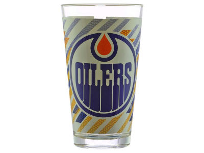 Edmonton Oilers Mixing Glass Wrapped