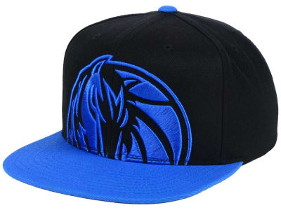 Dallas Mavericks Mitchell and Ness NBA Custom XL Cropped Snapback Cap