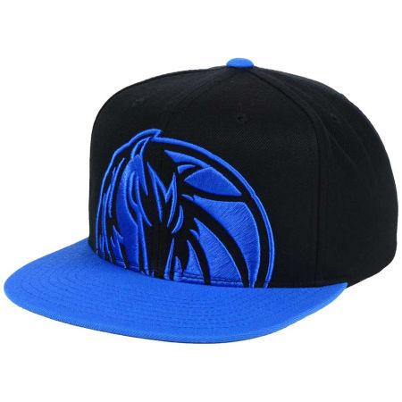 Dallas Mavericks Mitchell & Ness NBA Custom XL Cropped Snapback Cap