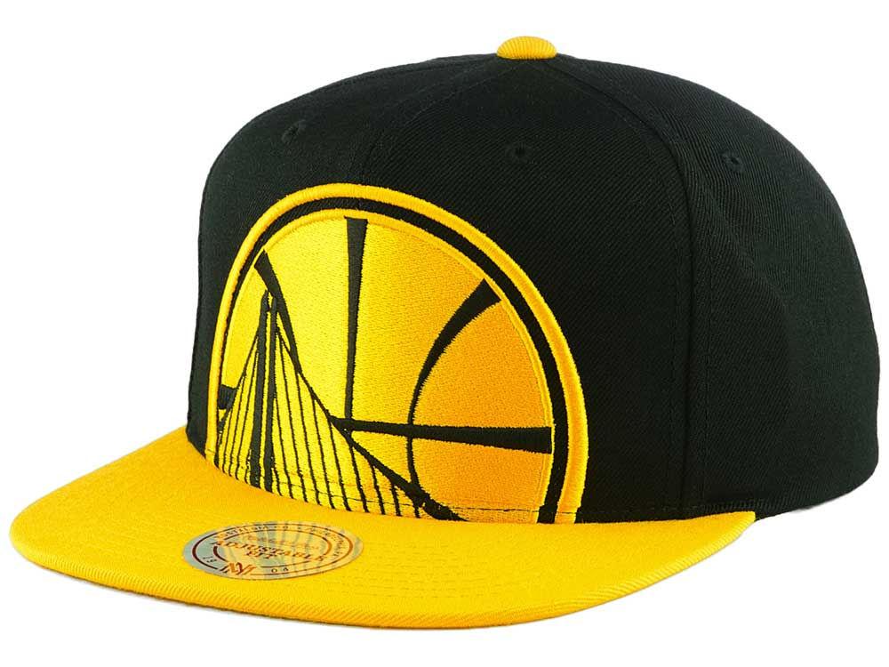 8c5e5964fe21ad ... best price golden state warriors mitchell ness nba custom xl cropped snapback  cap lids 26fd3 f41c6