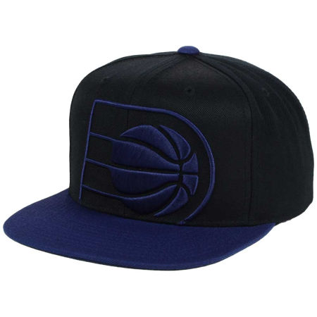 Indiana Pacers Mitchell & Ness NBA Custom XL Cropped Snapback Cap