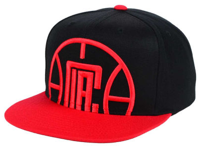 Los Angeles Clippers Mitchell & Ness NBA Custom XL Cropped Snapback Cap