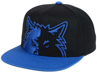 Minnesota Timberwolves Mitchell & Ness NBA Custom XL Cropped Snapback Cap