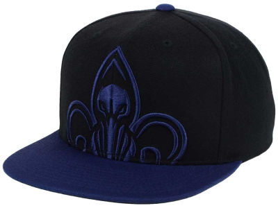 New Orleans Pelicans Mitchell & Ness NBA Custom XL Cropped Snapback Cap