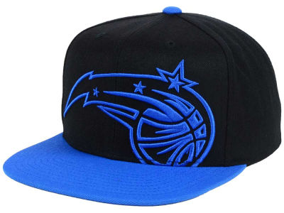 Orlando Magic Mitchell and Ness NBA Custom XL Cropped Snapback Cap