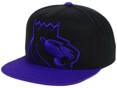 Sacramento Kings Mitchell and Ness NBA Custom XL Cropped Snapback Cap