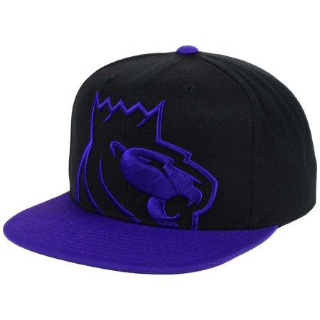 Sacramento Kings Mitchell & Ness NBA Custom XL Cropped Snapback Cap