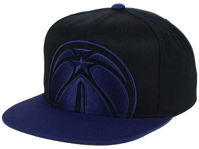 Washington Wizards Mitchell & Ness NBA Custom XL Cropped Snapback Cap