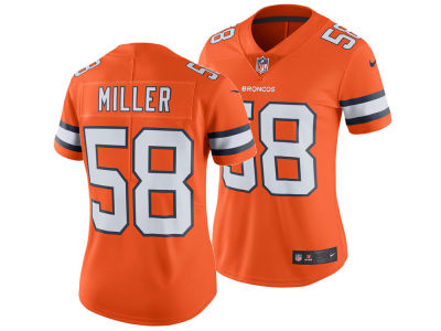 Denver Broncos Von Miller Nike NFL Women's Color Rush Limited Jersey