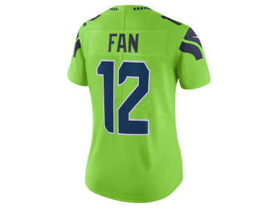 Seattle Seahawks Nike NFL Women's Color Rush Limited Jersey