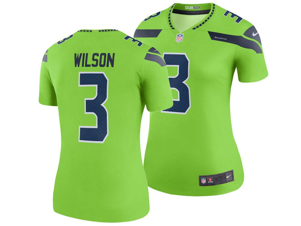 f886d82e7 ... canada seattle seahawks russell wilson nike nfl womens color rush  legend jersey lids 16994 fd288