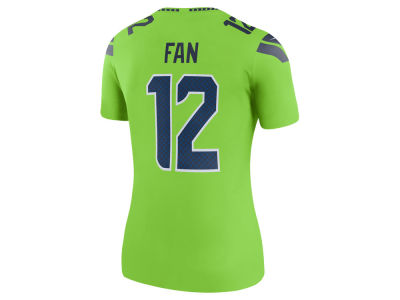Seattle Seahawks Nike NFL Women's Color Rush Legend Jersey