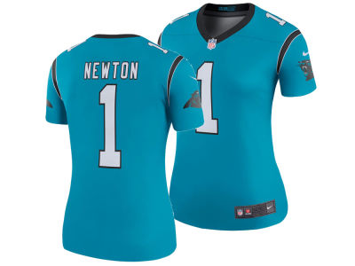 Carolina Panthers Cam Newton Nike NFL Women's Color Rush Legend Jersey