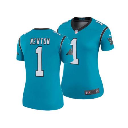 Carolina Panthers Cam Newton Nike NFL Women's Color Rush Legend Jersey