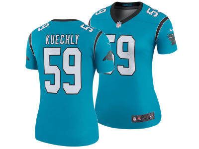 Carolina Panthers Luke Kuechly Nike NFL Women's Color Rush Legend Jersey
