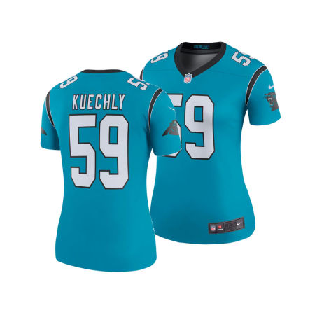 Carolina Panthers Luke Kuechly Nike NFL Women's Color Rush Legend Jersey