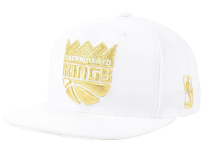 pretty nice cb157 1aa0a ... norway sacramento kings mitchell ness nba white goldie xl snapback cap  4d936 23fcb
