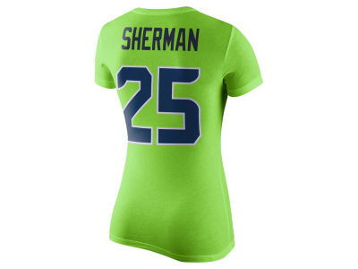 Seattle Seahawks Nike NFL Women's Color Rush Player Pride T-Shirt