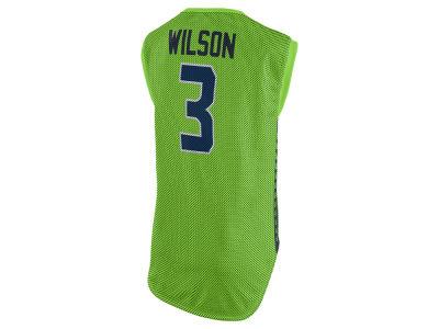 Seattle Seahawks Russell Wilson Nike NFL Women s Color Rush Sleeveless  Player Jersey 5e06806d7
