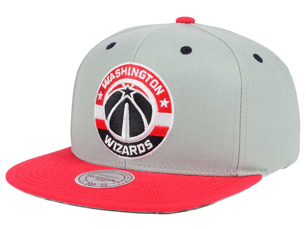 new products 1cf5e 4d006 ... wholesale washington wizards mitchell ness nba 2 tone velcro strap cap  7eea2 97f62