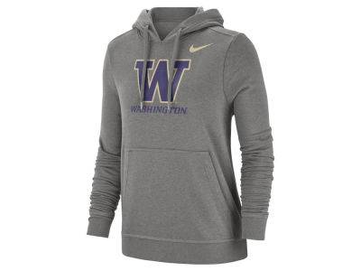 Washington Huskies Nike NCAA Women's Club Hooded Sweatshirt