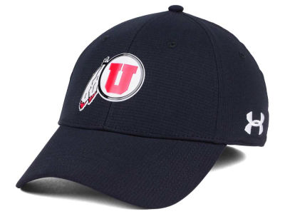 Utah Utes Under Armour NCAA Airvent Alloy Cap