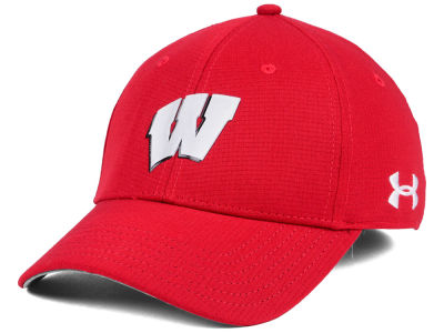 Wisconsin Badgers Under Armour NCAA Airvent Alloy Cap
