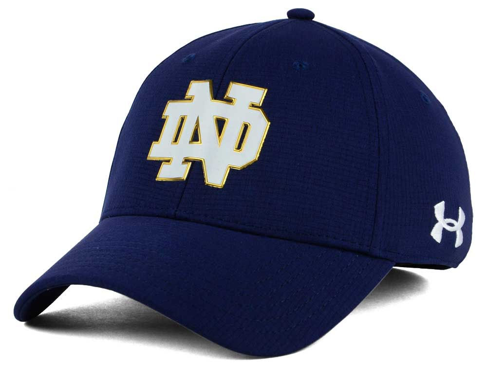 0910693710a Notre Dame Fighting Irish Under Armour NCAA Airvent Alloy Cap