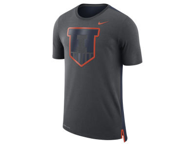 Illinois Fighting Illini Nike NCAA Men's Meshback Travel T-Shirt