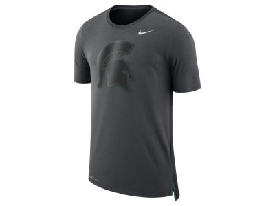 Michigan State Spartans Nike NCAA Men's Meshback Travel T-Shirt