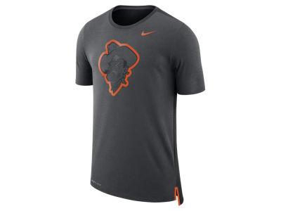 Oklahoma State Cowboys Nike NCAA Men's Meshback Travel T-Shirt