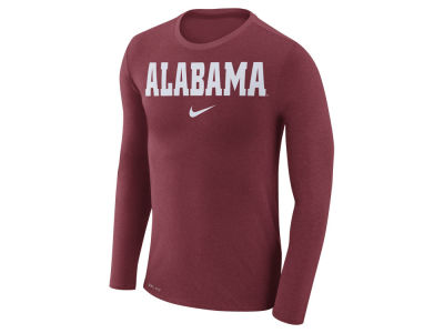 Alabama Crimson Tide Nike NCAA Men's Marled Long Sleeve T-Shirt