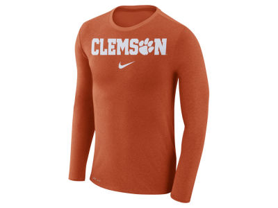 Clemson Tigers Nike NCAA Men's Marled Long Sleeve T-Shirt