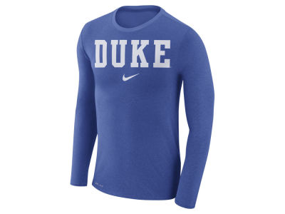Duke Blue Devils Nike NCAA Men's Marled Long Sleeve T-Shirt