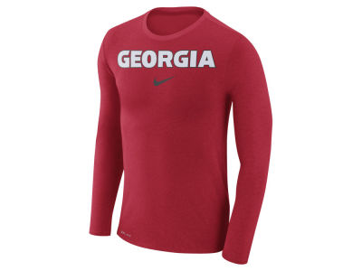 Georgia Bulldogs Nike NCAA Men's Marled Long Sleeve T-Shirt