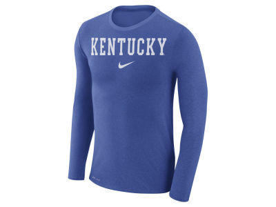 Kentucky Wildcats Nike NCAA Men's Marled Long Sleeve T-Shirt
