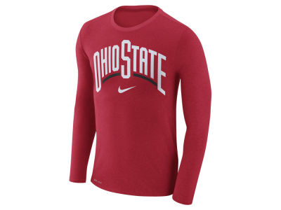Nike NCAA Men's Marled Long Sleeve T-Shirt