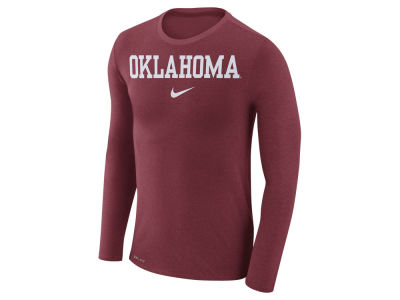 Oklahoma Sooners Nike NCAA Men's Marled Long Sleeve T-Shirt