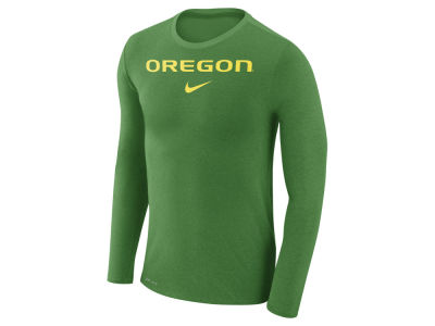 Oregon Ducks Nike NCAA Men's Marled Long Sleeve T-Shirt