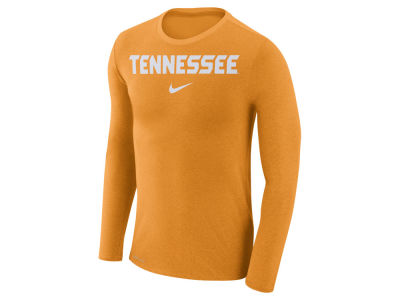 Tennessee Volunteers Nike NCAA Men's Marled Long Sleeve T-Shirt