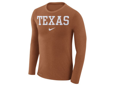Texas Longhorns Nike NCAA Men's Marled Long Sleeve T-Shirt