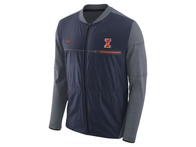 Illinois Fighting Illini Nike NCAA Men's Elite Hybrid Jacket