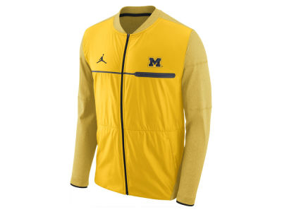 Michigan Wolverines Jordan NCAA Men's Elite Hybrid Jacket