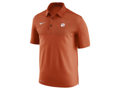 Clemson Tigers Nike NCAA Men's Elite Coaches Polo