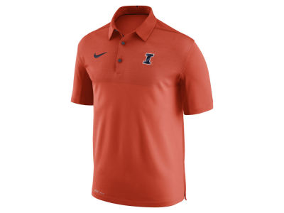 Illinois Fighting Illini Nike NCAA Men's Elite Coaches Polo