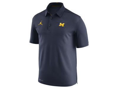 Michigan Wolverines Jordan NCAA Men's Elite Coaches Polo