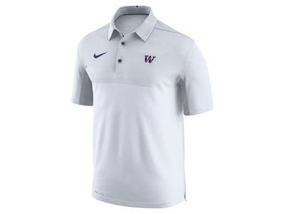 Washington Huskies Nike NCAA Men's Elite Coaches Polo