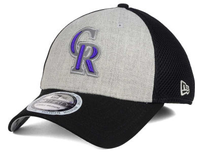 Colorado Rockies New Era MLB Total Reflective 39THIRTY Cap
