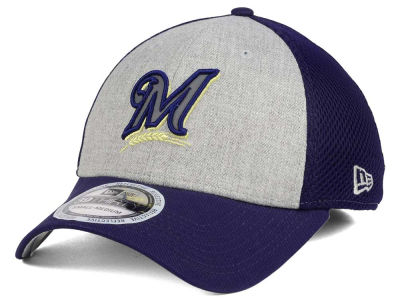 Milwaukee Brewers New Era MLB Total Reflective 39THIRTY Cap