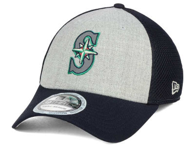 Seattle Mariners New Era MLB Total Reflective 39THIRTY Cap